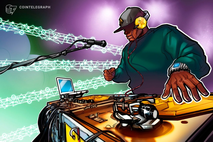 Russian star transfers song rights on blockchain as major labels watch
